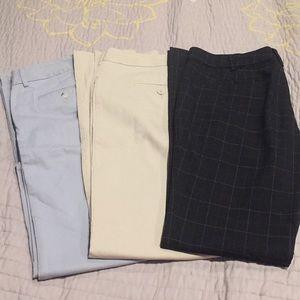 Express NY&co size 6 dress pant lot bundle